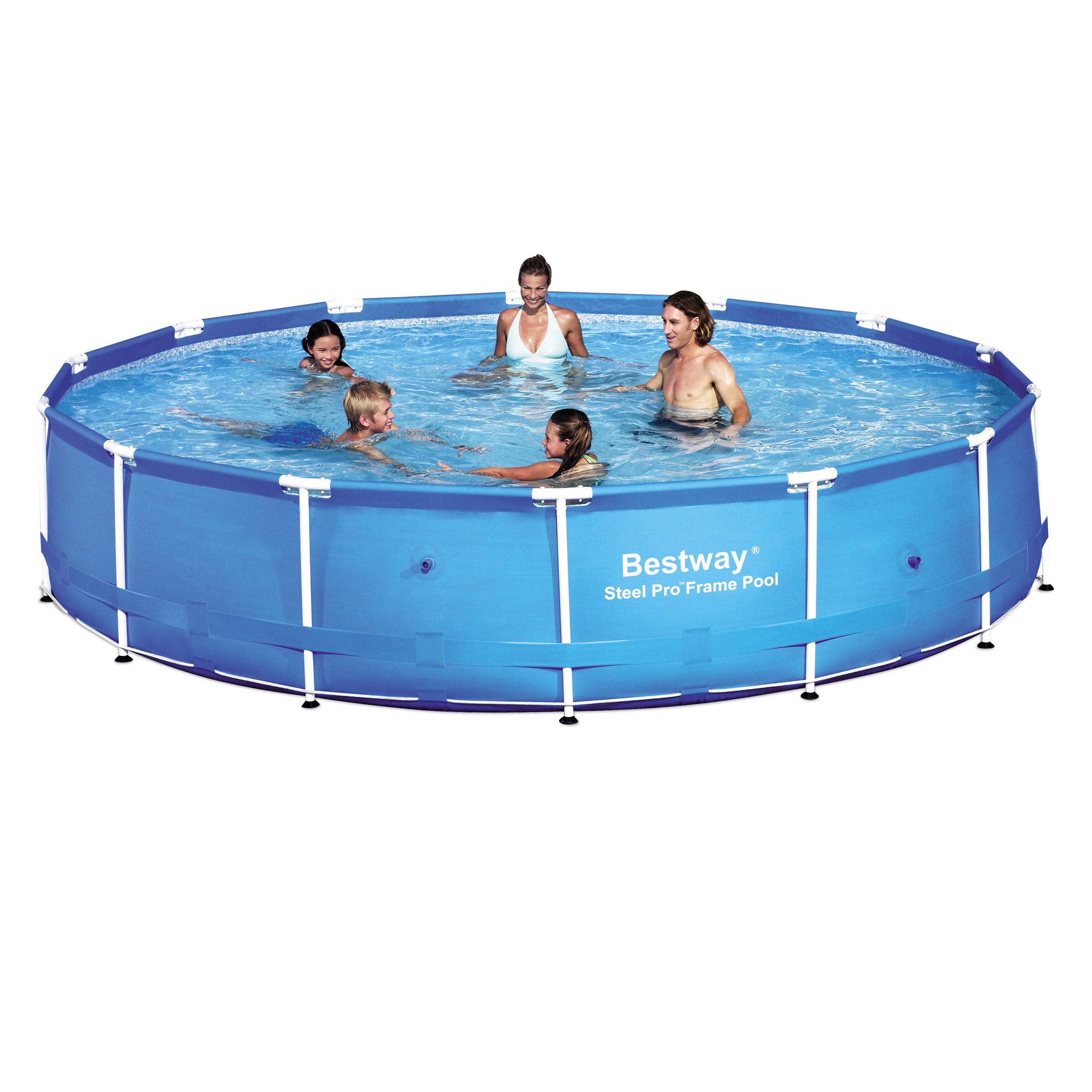 Bestway Steel Frame Pool - Walmart.com