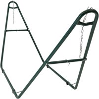 Sunnydaze Universal Multi-Use Heavy-Duty Steel Hammock Stand, 2 Person, Fits Hammocks 9 to 14 Feet Long, 550-Pound Capacity, Multiple Colors Available