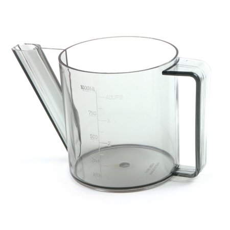 Norpro 4 Cup - 1 Liter - Gravy Separator / Measurer - Clear Plastic