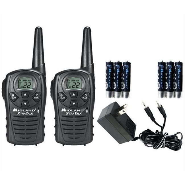 MIDLAND LXT118VP 18MILE GMRS RADIO PAIR PK