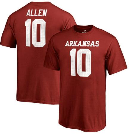 Brandon Allen Arkansas Razorbacks Fanatics Branded Youth College Legends Name & Number T-Shirt - -