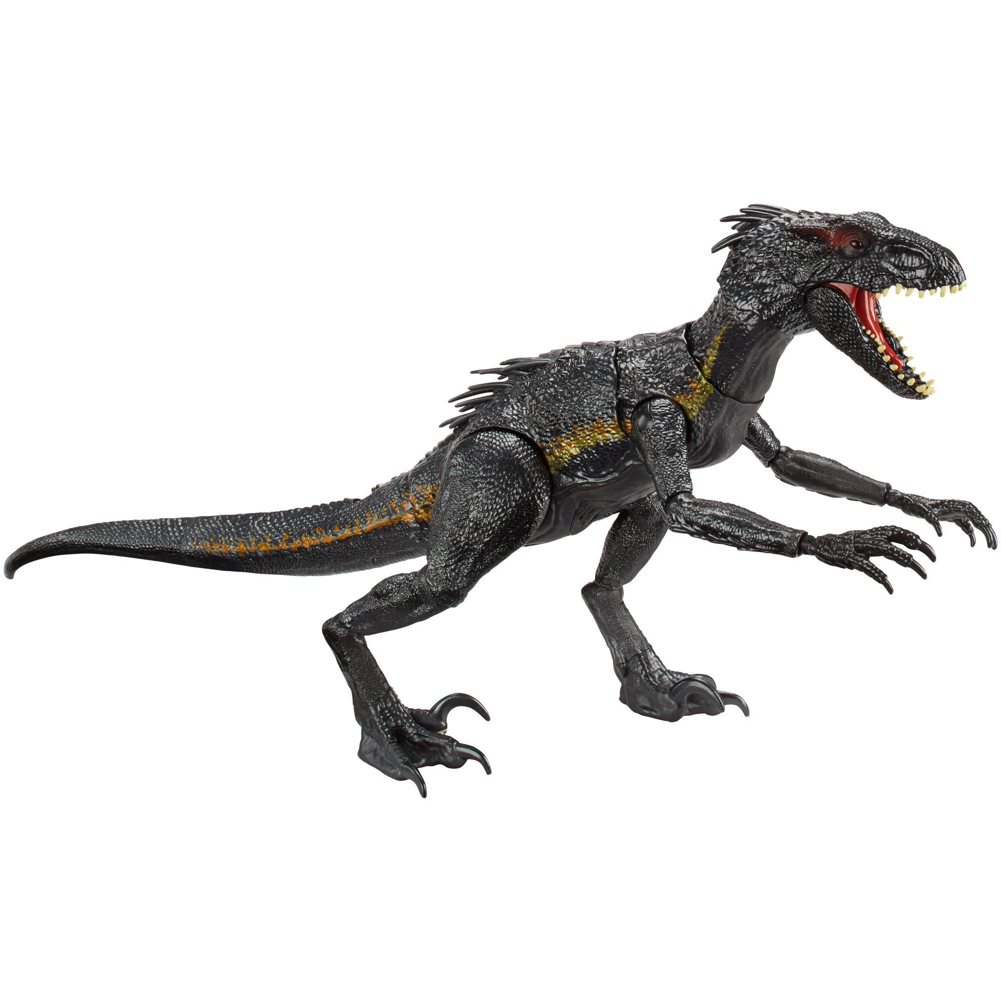 Jurassic World Grab 'N Growl Indoraptor Dinosaur Figure by Mattel