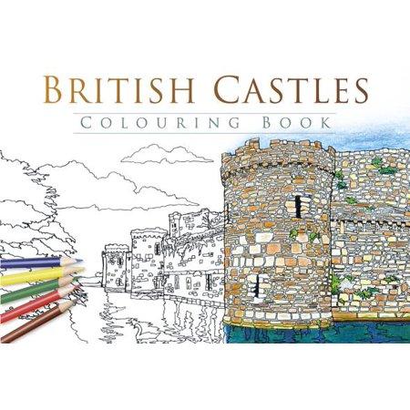 British Castles Colouring Book - Johnson Bros Old Britain Castles
