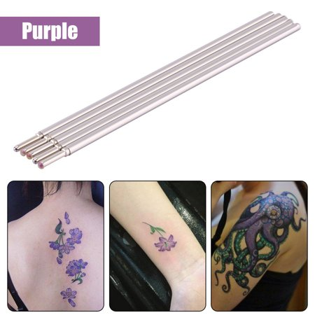 YLSHRF 5pcs Tattoo Skin Pen Doodler Surfer Tattooing Medical Pen Cores Tattoo Supply 5 Color,Tattoo Skin Pen, Tattoo Pen
