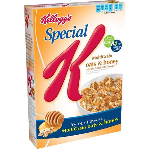 Kellogg's Special K Multigrain Oats & Honey Cereal, 13.6 oz