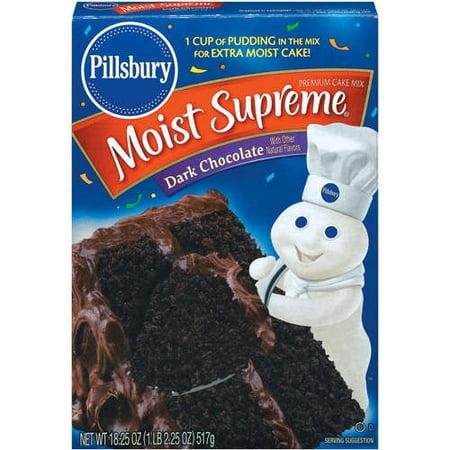 Pillsbury Cake Mix Questions
