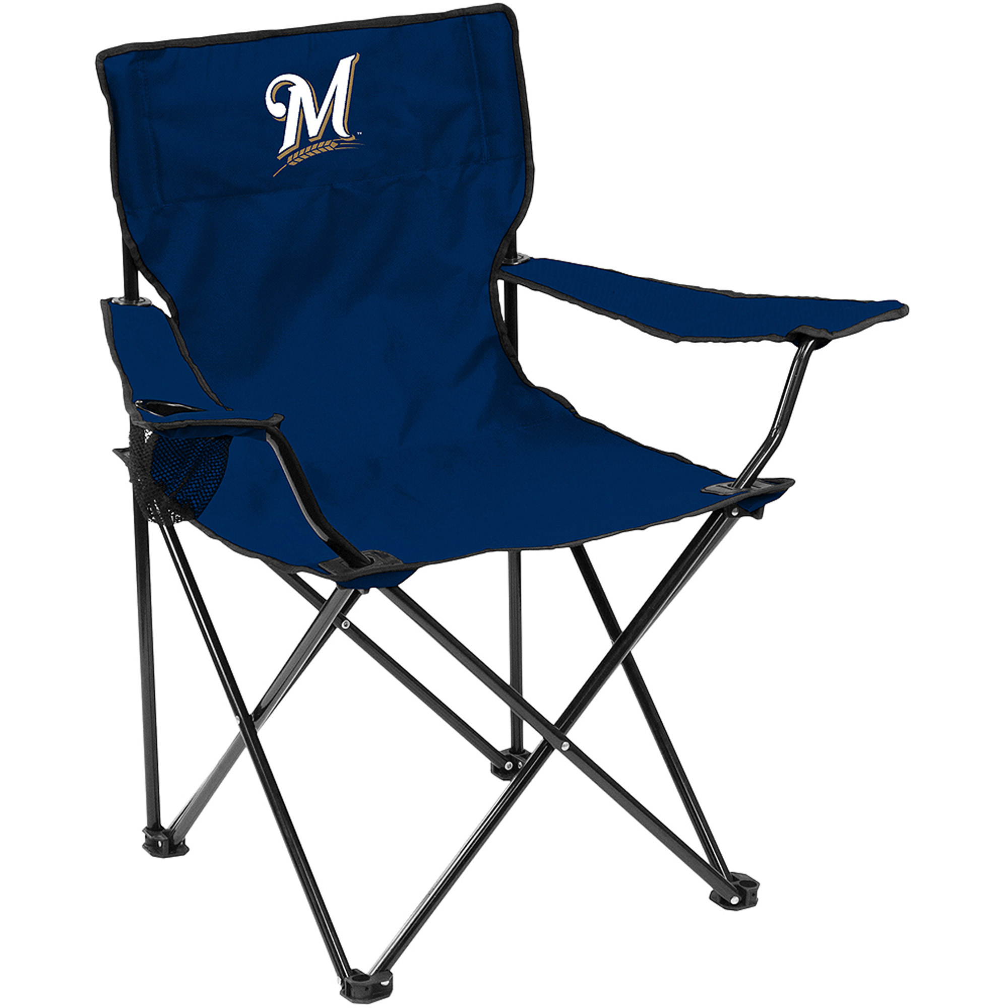 Logo MLB Milwaukee Brewers Quad Chair