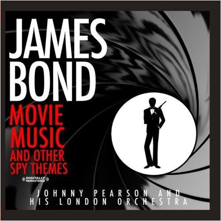 More James Bond Movie Music and Other Spy Themes (CD) - Halloween Movie Theme Music
