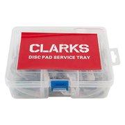 Clarks Service Tray Brake Shoes, Tektro Volans, Auriga Twin, Auriga Sub, Auriga E-sub, Organic