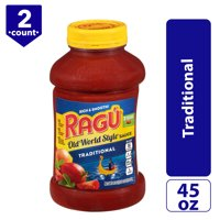 (2 Pack) Ragú Old World Style® Traditional Pasta Sauce, 45 oz.