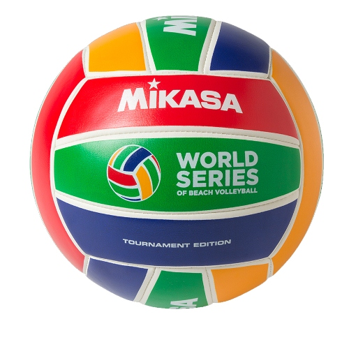 Beach Volleyball by Mikasa Sports, World Series, Size 5 Official - WS-Y