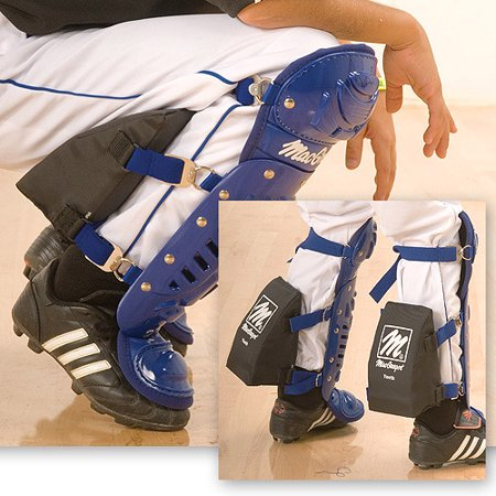 MacGregor Catcher's Knee Support, Black, Youth Youth Knee Savers