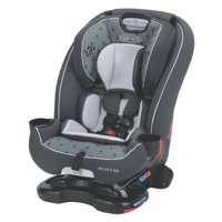 Graco Recline N' Ride 3-in-1 Convertible Car Seat, Clifton White