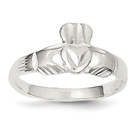 925 Sterling Silver Irish Claddagh Celtic Knot Band Ring Size 7.00 Fine Jewelry Gifts For Women For Her - image 6 of 6