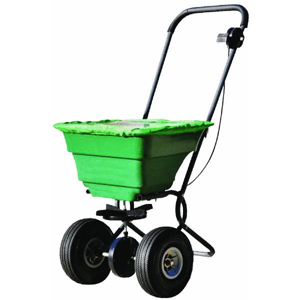 Precision Self-Lubricating Push Broadcast Fertilizer Spreader