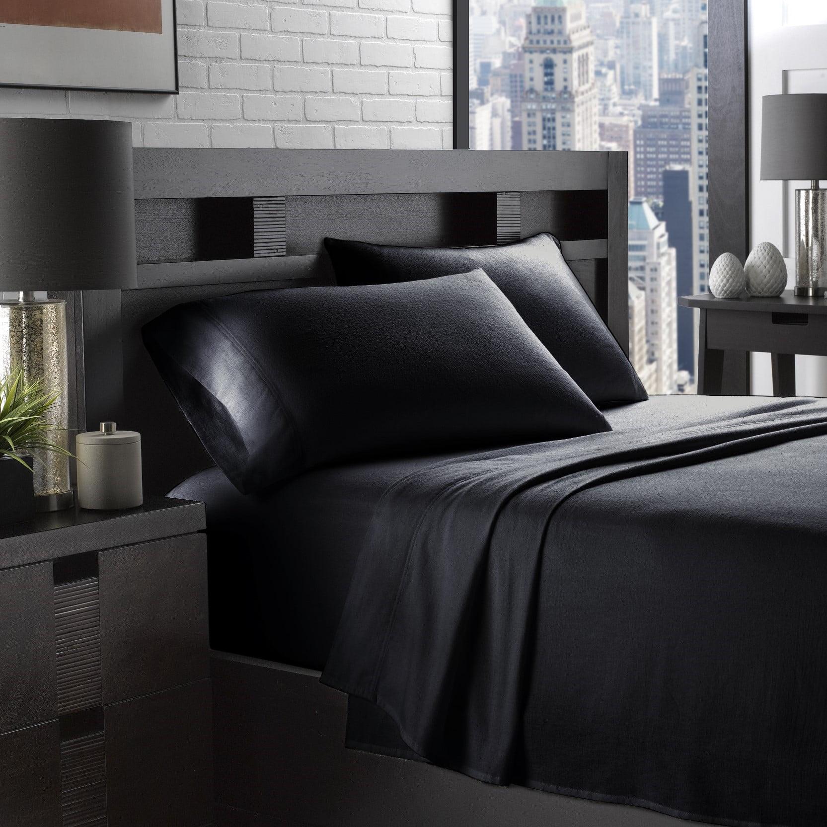 100% Cotton Flannel 4-Piece Ultra Cozy Sheet Set