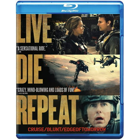Live Die Repeat  Edge Of Tomorrow  Blu Ray