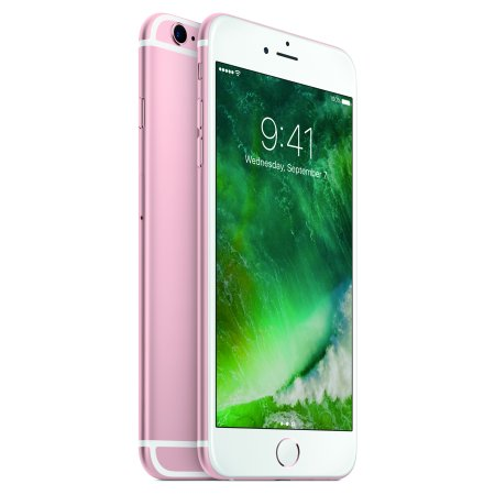 walmart family mobile apple iphone 6s plus with 32gb prepaid smartphone rose gold. Black Bedroom Furniture Sets. Home Design Ideas