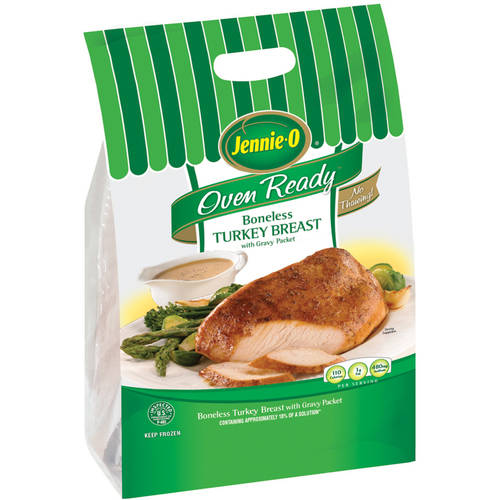 Frozen Jennie-O Oven Ready Boneless Turkey Breast, 2.0-3.0 lbs