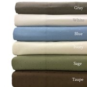 Pillowcases Woven Dots 600 Thread Count Ultra-Soft Set of Two Pillowcases