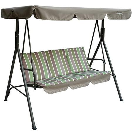 Kozyard Alicia Patio Swing Chair With 3 Comfortable