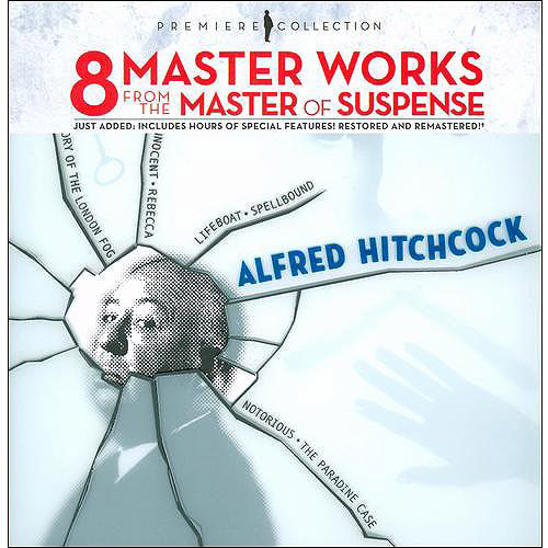 Alfred Hitchcock Premiere Collection (Lifeboat   Spellbound   Notorious   The Paradine Case   Sabotage   Young... by METRO-GOLDWYN-MAYER INC