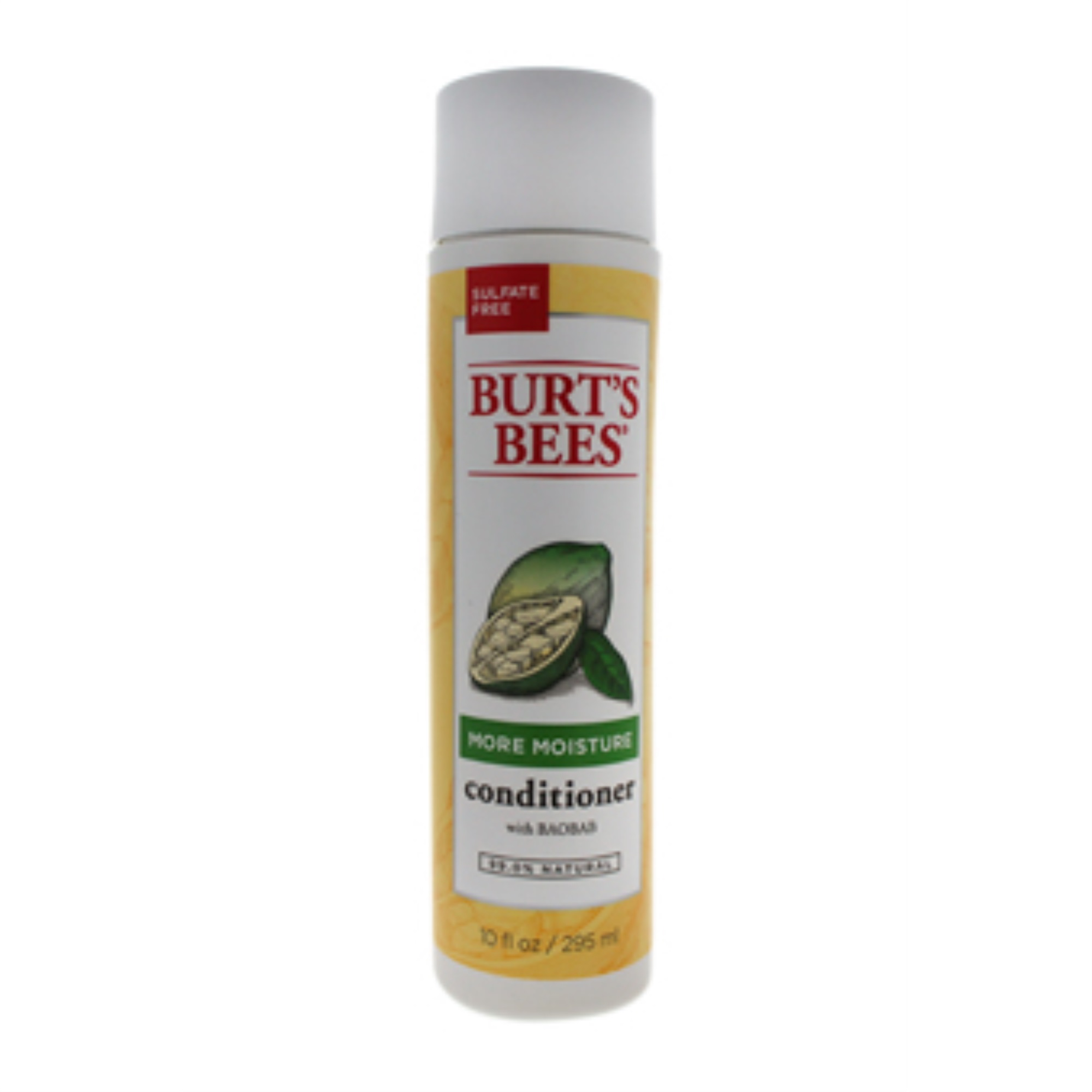 More Moisture Baobab Conditioner by Burt's Bees for Unisex - 10 oz Conditioner - image 1 of 3