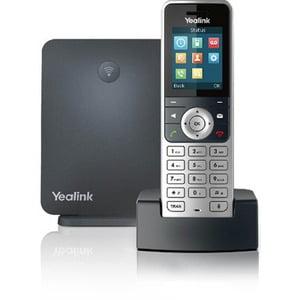 Yealink IP Phone Cordless Corded DECT Wall Mountable Desktop Handset W53P