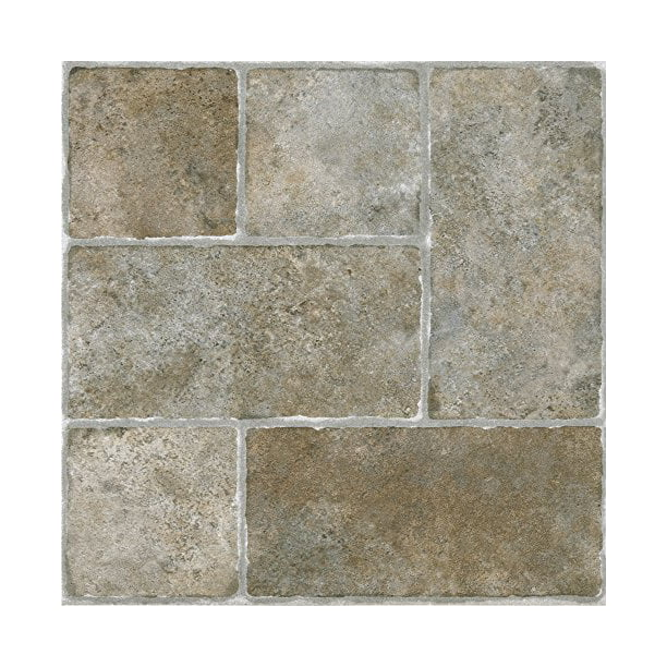Achim Home Furnishings Achig FTVGM33720 Nexus Quartose Granite,12 Inch x 12 Inch 1 Pack Self Adhesive Vinyl Floor 337 20 Tiles