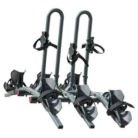 Bike Platform Hitch Rack - Bell RIGHT UP 350 Platform Hitch Rack, 3 Bike