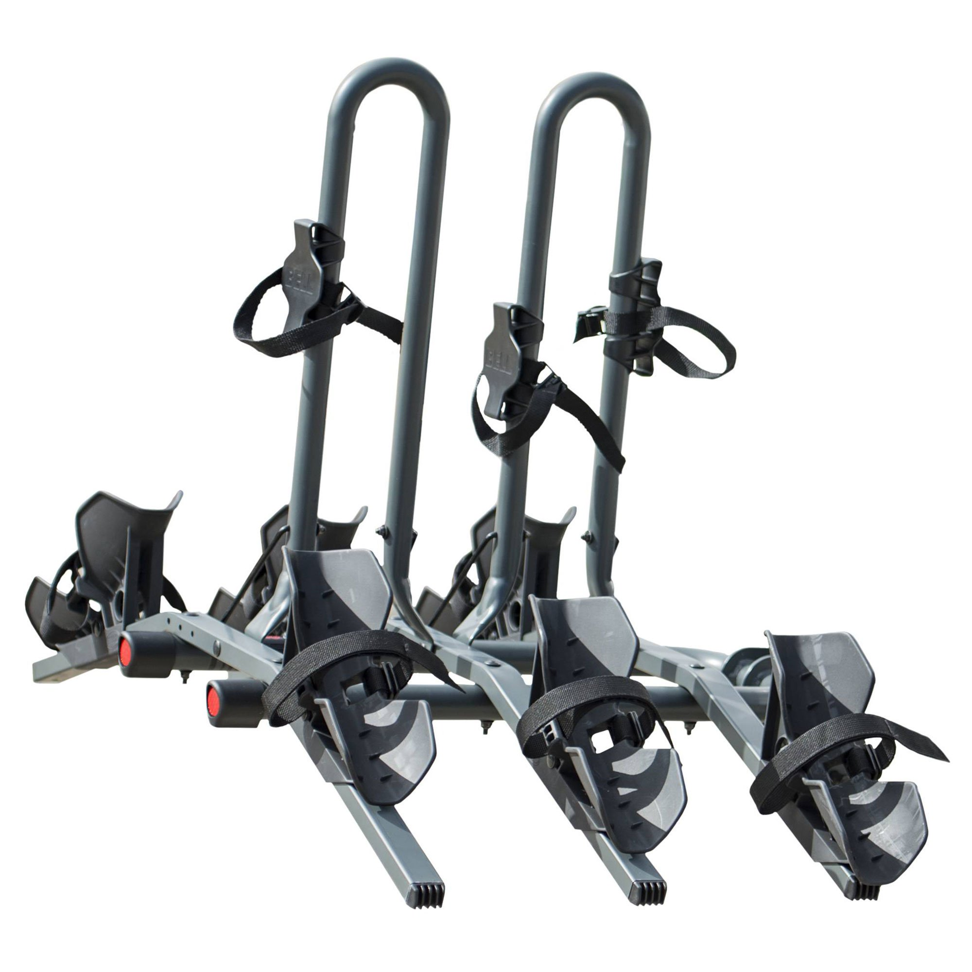 Bell Sports RIGHT UP 350 Platform Hitch Rack, 3 Bike