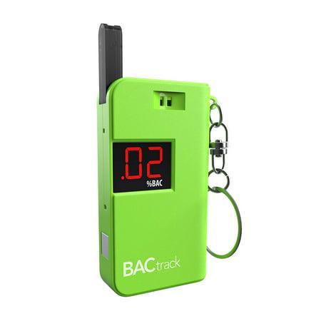 Tester Keychain (Keychain Breathalyzer Portable Keyring Breath Alcohol Tester, Green BACtrack)