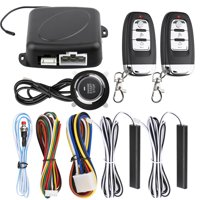 TSV Car Remote Central Lock Locking Keyless Entry System with Two Remotes Controllers and Two Sensing Antenna