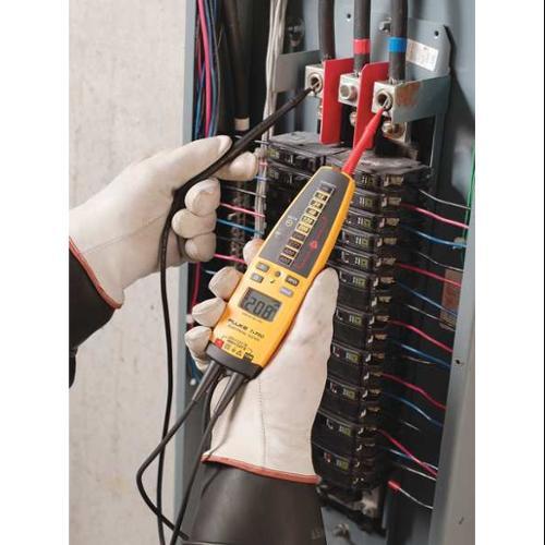 FLUKE Fluke-T+Pro Voltage Tester, 600VAC, 600VDC