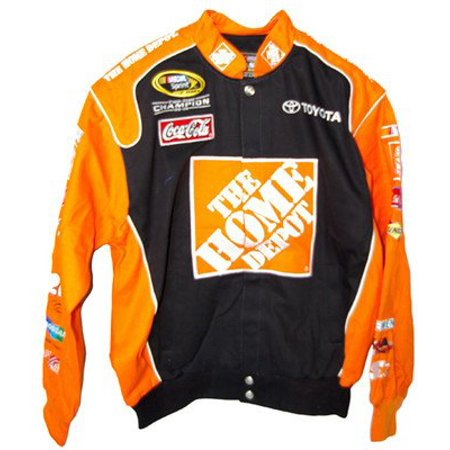 Home Depot Cotton Twill Jacket Adult Large Motorsports Authentics Home Depot Cotton Twill Jacket Adult Large
