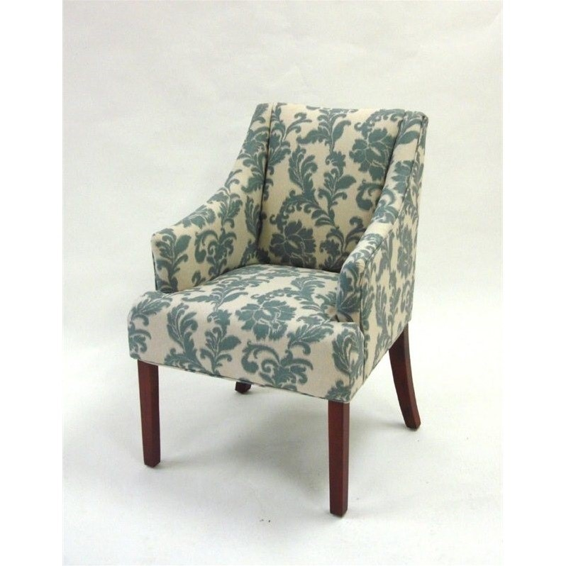 IKat Fabric Accent Armchair