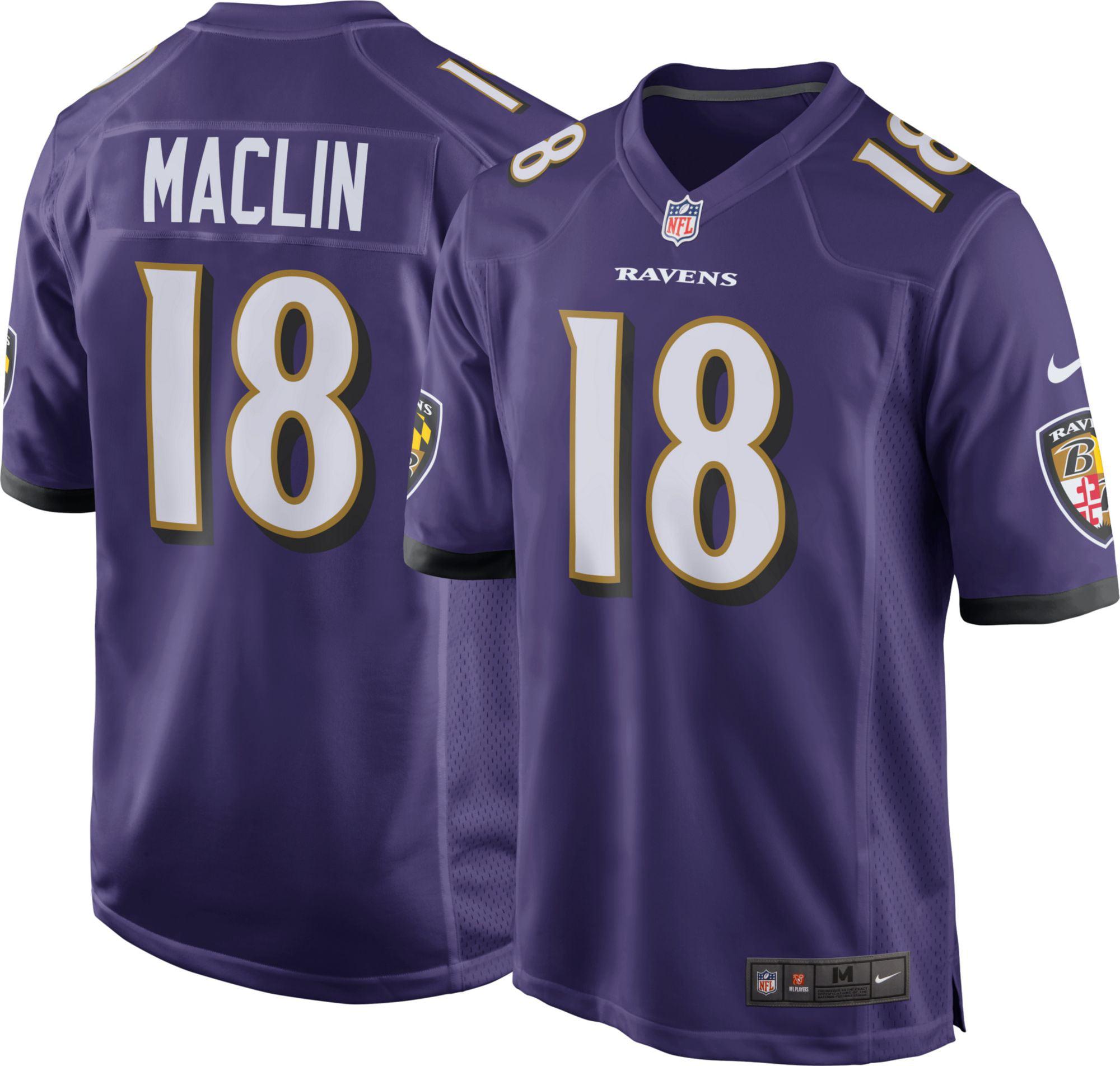 Nike Men s Home Game Jersey Baltimore Ravens Jeremy Maclin  18 - Walmart.com 8b6ce4787