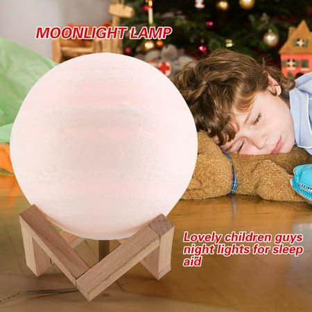 Moonlight Lamp,Fosa Moon Lamp USB LED Night Light Touch Sensor Moon Lamp Desk Moonlight - Usb Light Sensor