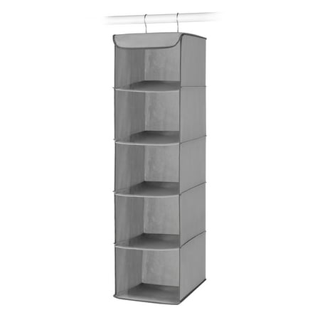 Whitmor Hanging 5 Section Accessory Shelves