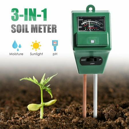 Wood Moisture Meter 3 In Soil Water Moisture 1 Ph Tester