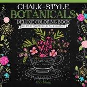 Design Originals-Chalk-Style Botanicals Coloring