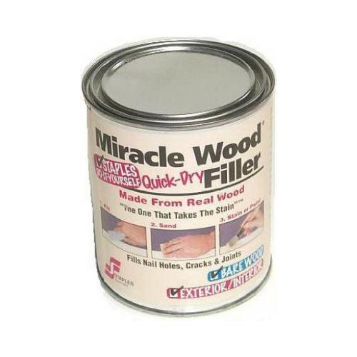 Staples H F 902 Miracle Wood Filler, 1/2-Lb.