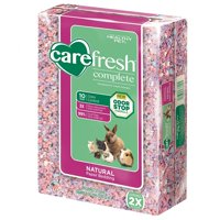 Complete Confetti Pet Bedding for Small Animals, 50 L, 10-Day odor control By Carefresh