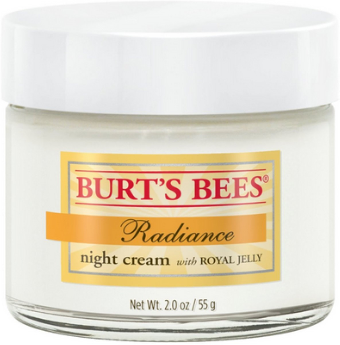 Burt's Bees Radiance Night Creme with Royal Jelly 2 oz