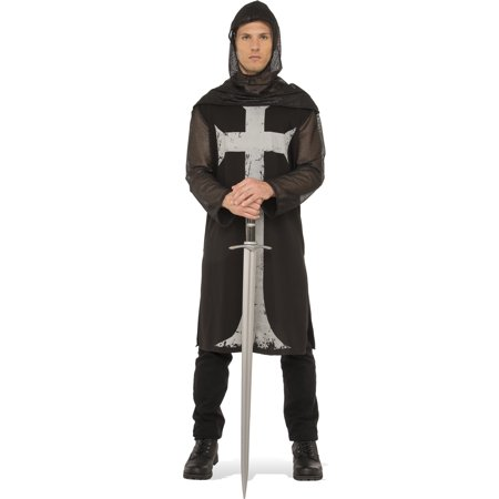 Gothic Medieval Knight Adult Men Renaissance Halloween Costume