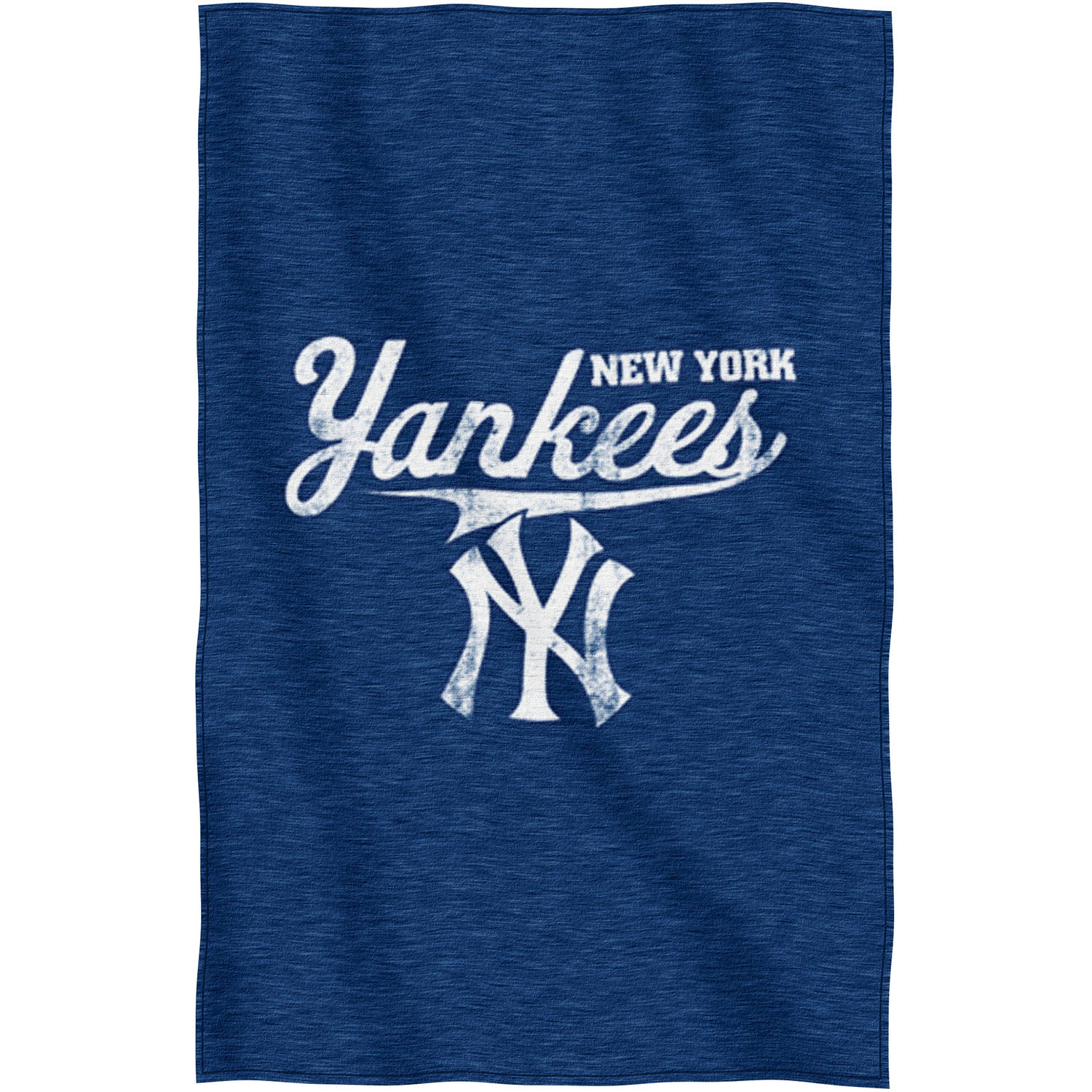 "MLB New York Yankees ""Script"" 54"" x 84"" Sweatshirt Throw"