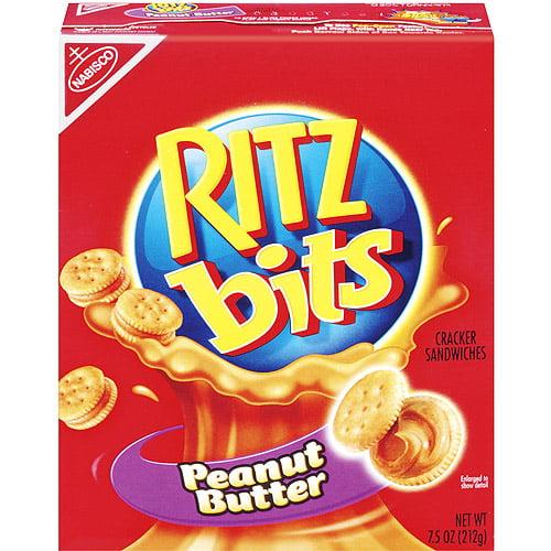 Nabisco Ritz Bitz Peanut Butter Sandwich Crackers, 7.5 oz