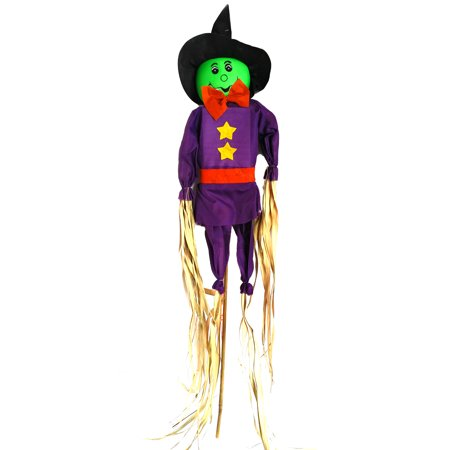 Veil Entertainment Straw Halloween Scarecrow Witch 36