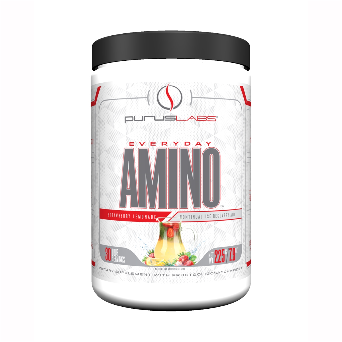 Purus Labs Everyday Amino, Strawberry Lemonade, 30 Servings