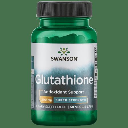 Swanson Glutathione - Super Strength 200 mg 60 Veg